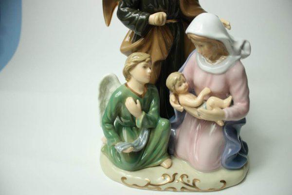 Jesus Geburt 28 cm Porzellan