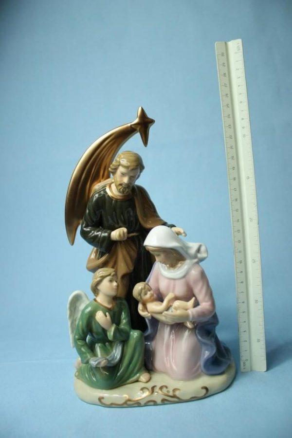Nativita´ Geburt Jesus 28 cm Porzellan